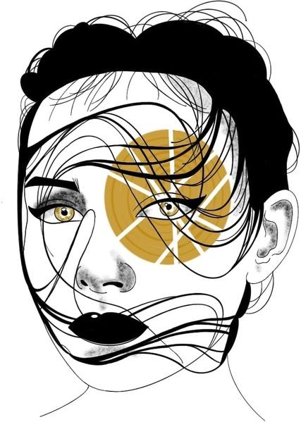 tattoo flash woman